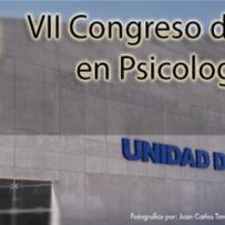 Memorias VII Congreso de Posgrado en Psicología 2013