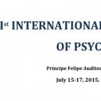 1st International Congress of Psychobiology