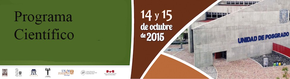 Programa Científico IX Congreso de Posgrado en Psicología