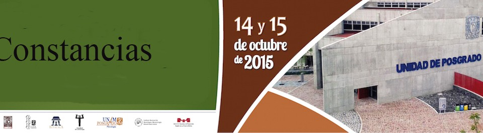 Obtenención de constancias IX Congreso de Posgrado en Psicología