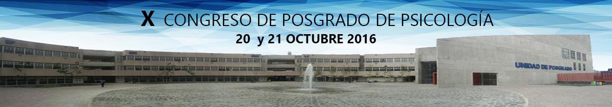 X Congreso del Posgrado en Psicología