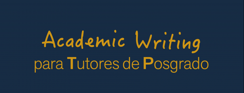 Taller Academic Writing