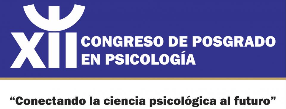 XII Congreso Posgrado en Psicología